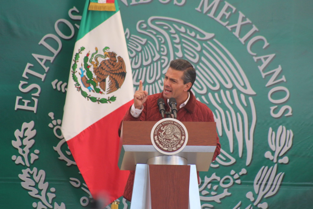The party of Mexican President Enrique Peña Nieto is expected to retain its majority in the lower Chamber of Deputies. But numerous legislators who lobbied for his reforms will leave due to one term limits in Mexico. (Lorne Matalon)