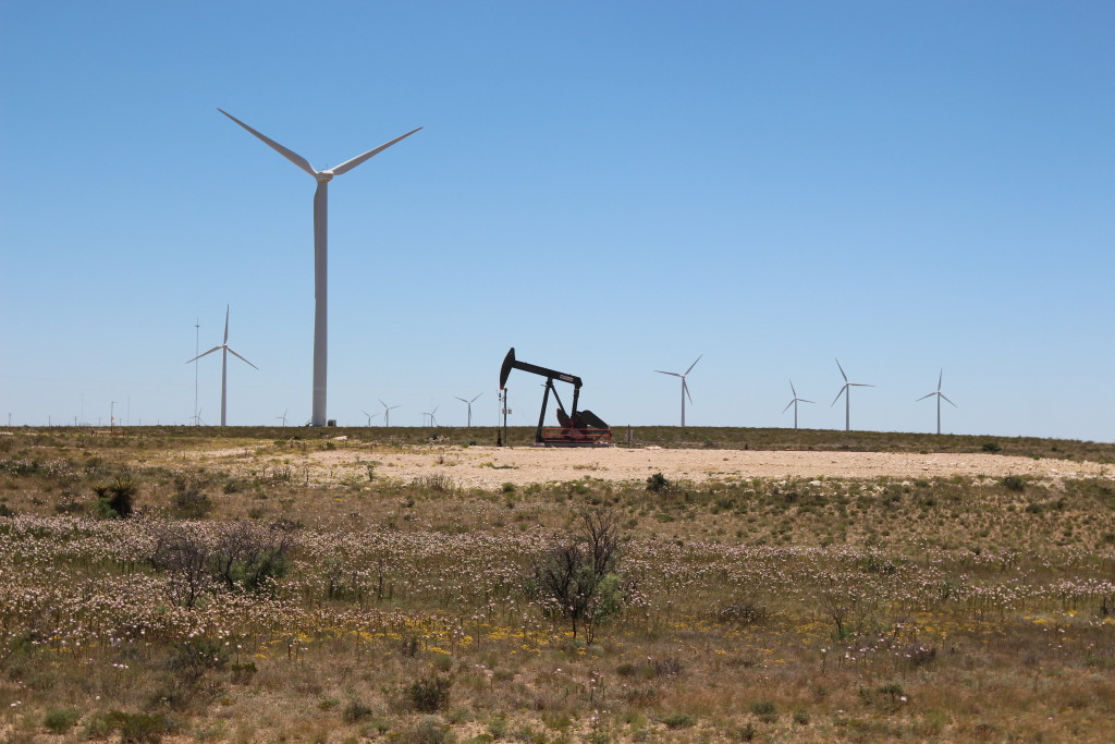 Oil and gas dominate the Texas energy market but wind is growing exponentially. Wind power now provides 10 per cent of the state's electricity. (Lorne Matalon)